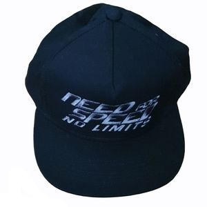 Black Need For Limits Cap